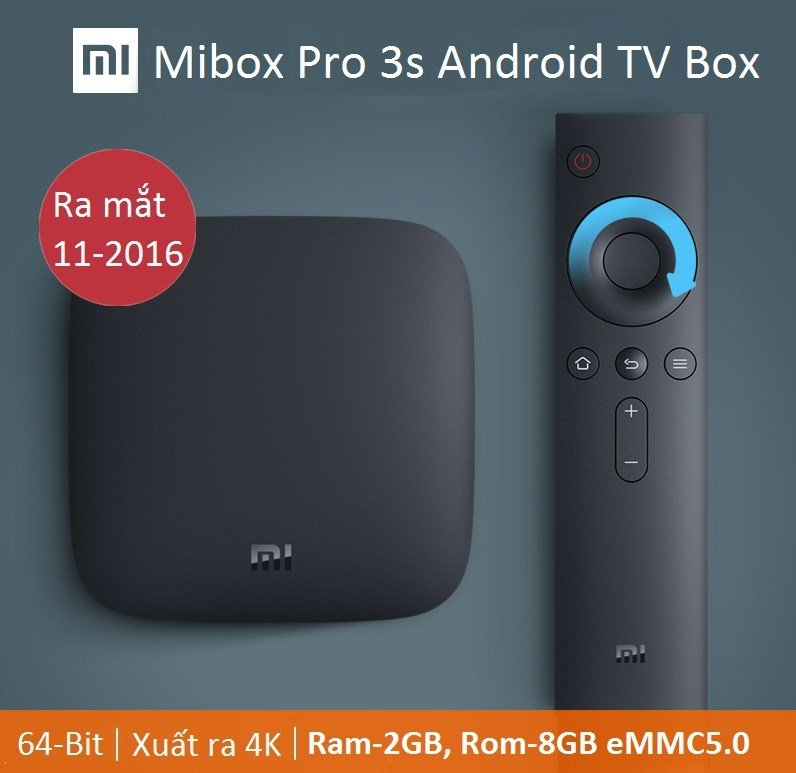 MIBOX PRO 3S ANDROID TV BOX