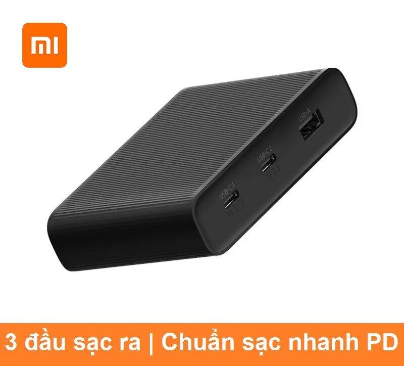 Bộ sạc chuẩn PD 3 usb 65w Xiaomi Zmi HA932