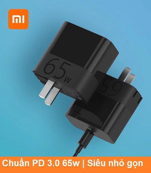 Củ sạc nhanh 65w Xiaomi Zmi chuẩn PD 3.0 HA712