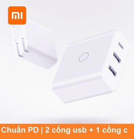 Củ sạc 65W Xiaomi ZMI chuẩn PD