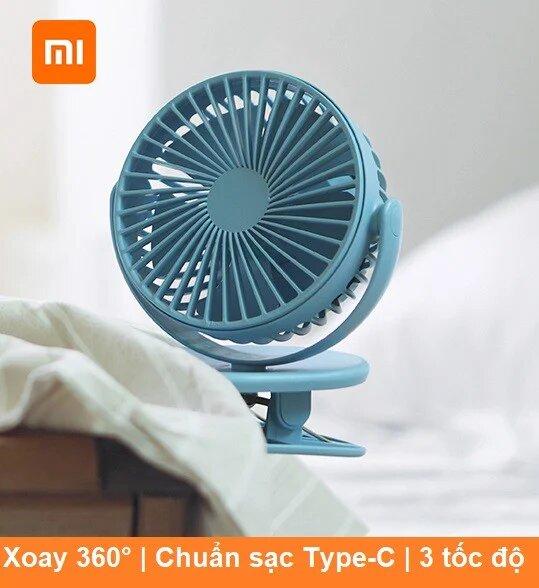 Quạt tích điện Xiaomi Solove F3 xoay 360 độ