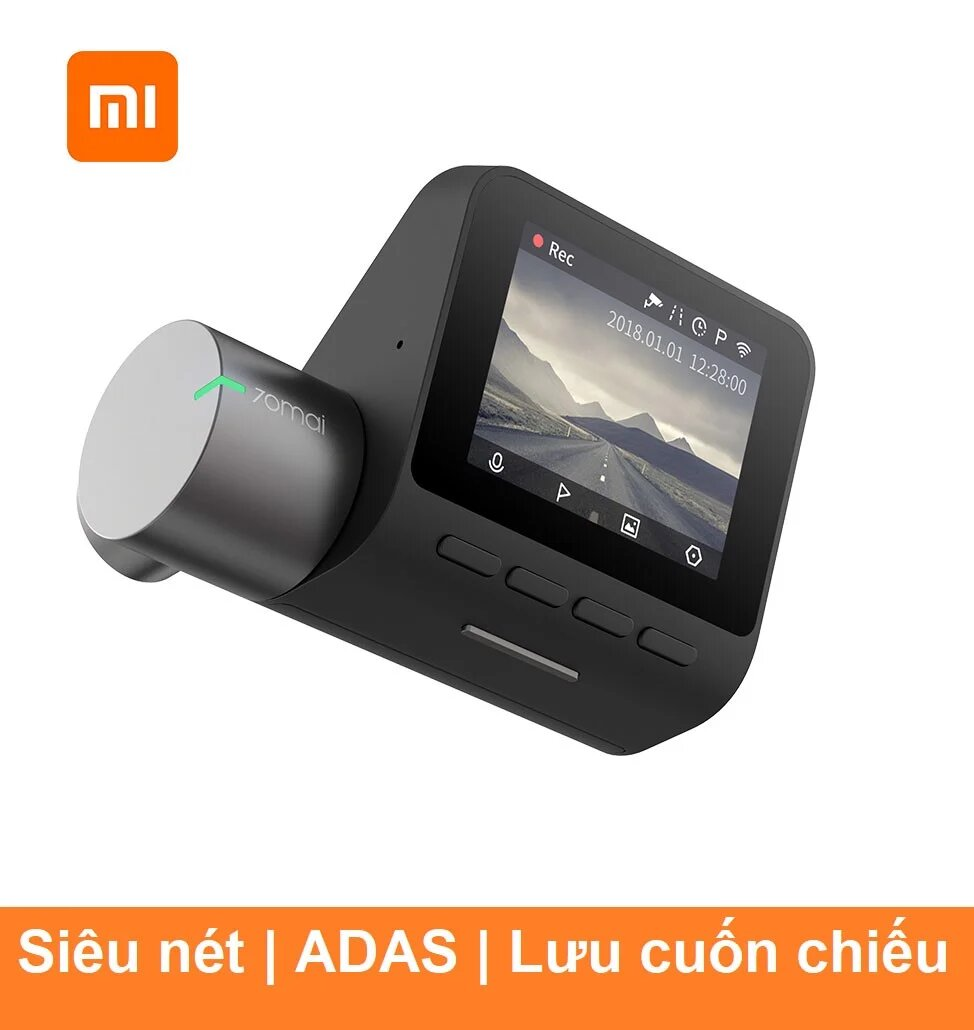 Camera hành trình Xiaomi 70mai Pro Tiếng Anh