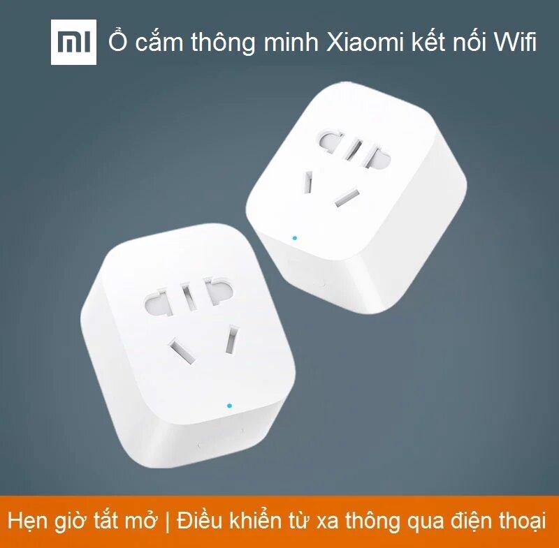 Ổ cắm thông minh Xiaomi kết nối Wifi nhà thông minh Smart Socket