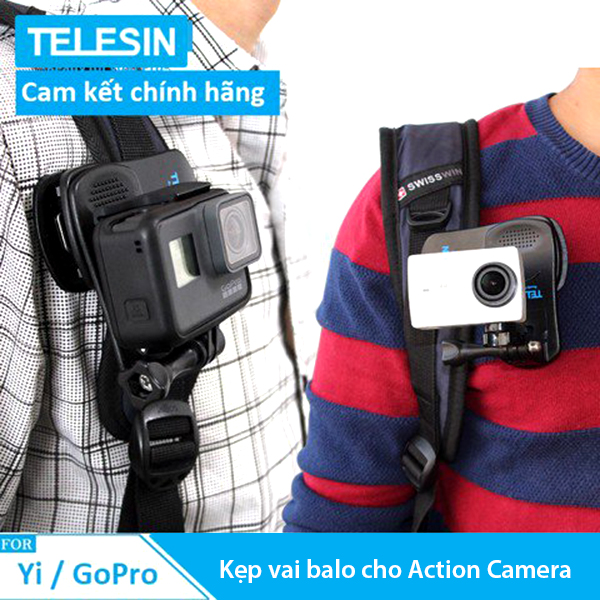 KẸP VAI BALO CHO ACTION CAMERA