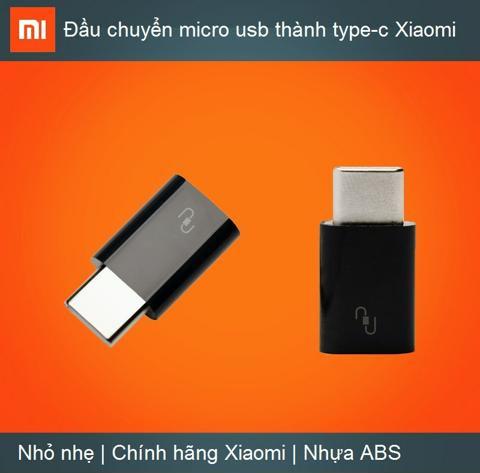 ĐẦU CHUYỂN MICRO USB THÀNH TYPE-C XIAOMI