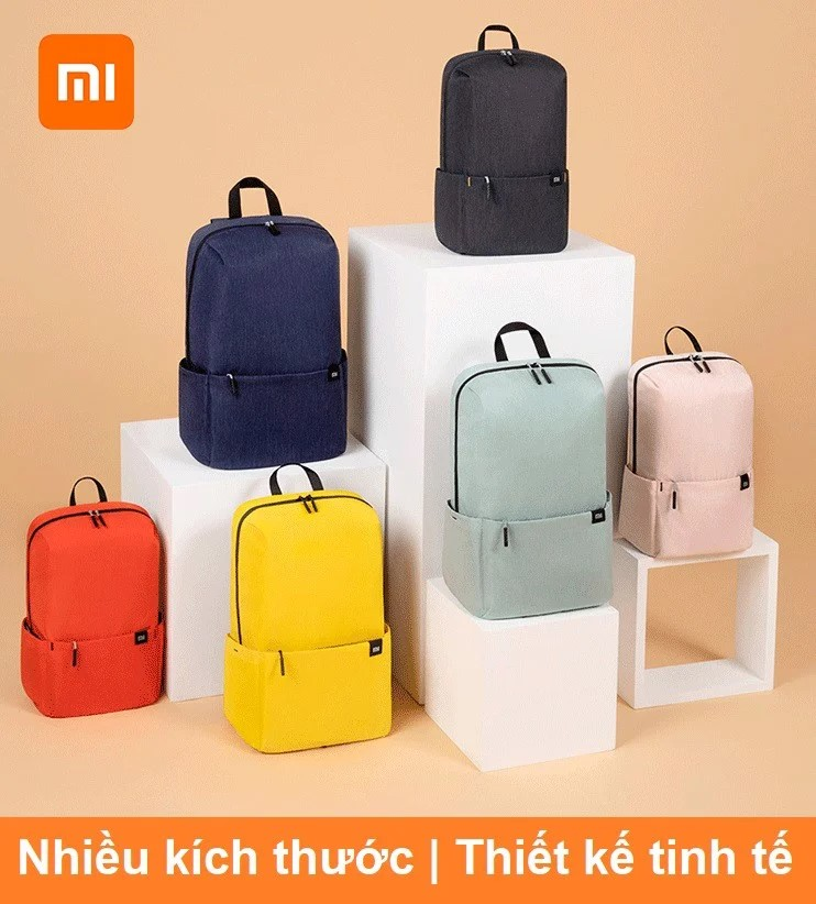 Balo mini đeo vai Xiaomi Backpack small 10 lít