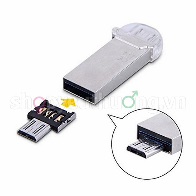 ĐẦU CHUYỂN MICRO USB OTG DM