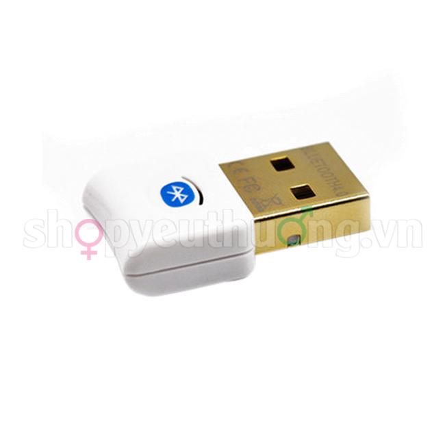 USB BLUETOOTH MÁY TÍNH 4.0 CSR CLASS1 | (Tạm hết hàng)