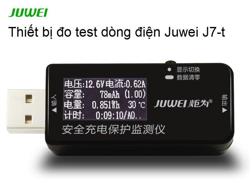 THIẾT BỊ ĐO TEST DÒNG ĐIỆN JUWEI