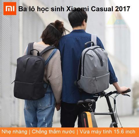 BA LÔ HỌC SINH XIAOMI CASUAL 2017