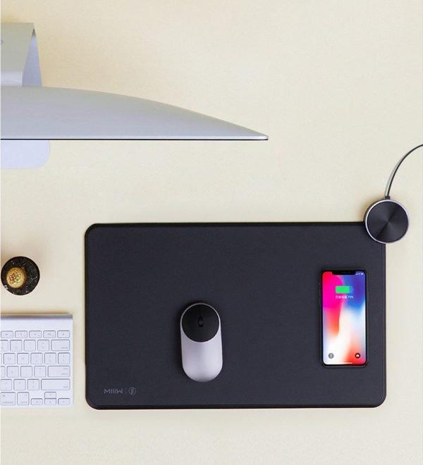 Miếng lót chuột hỗ trợ sạc nhanh chuẩn Qi SmartPad MIIIW MWSP01