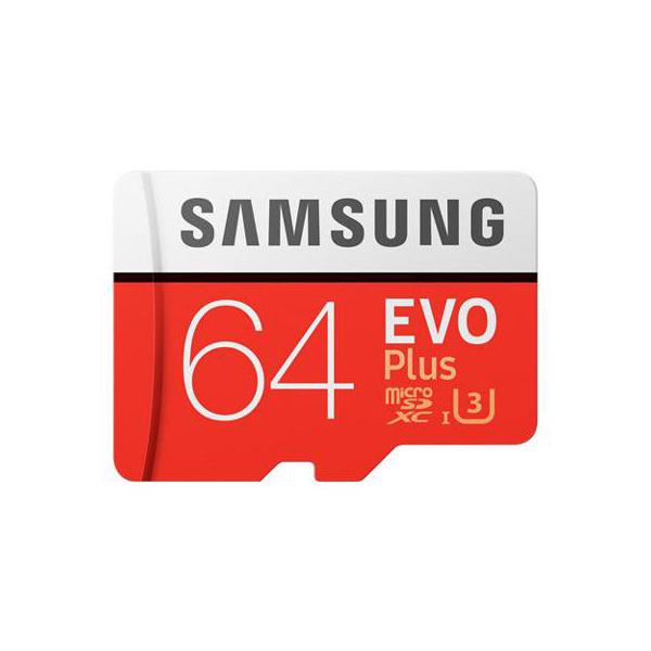 THẺ NHỚ MICROSD SAMSUNG EVO PLUS U3 64GB 2017 | (Tạm hết hàng)