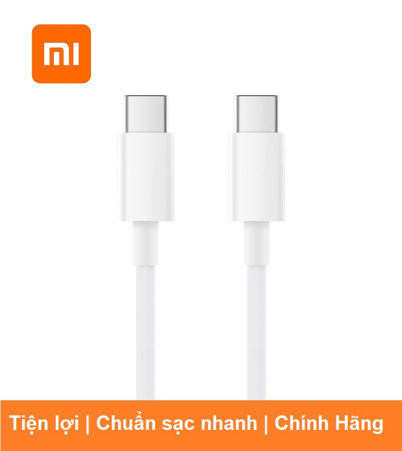 CÁP SẠC XIAOMI USB-C TO USB-C